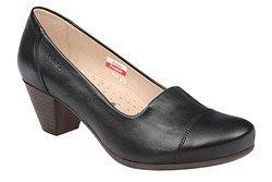 Czółenka na obcasie buty AXEL Comfort 1542 Czarne