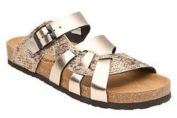 Klapki buty Dr Brinkmann 700991-82 Złote