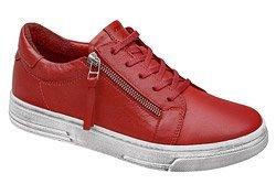 Komfortowe Sneakersy MANITU 850440-4 Czerwone