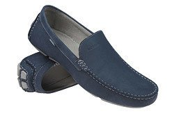 Mokasyny wsuwane buty BADURA 2205 Granatowe