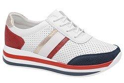 Półbuty Sneakersy ARTIKER 48C1389 Białe