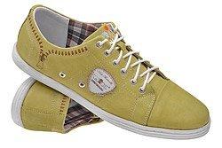 Półbuty Sneakersy NIK 05-0170-006 Musztardowe
