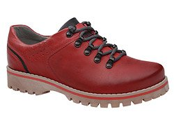 Półbuty buty trekkingowe KORNECKI 5330 Czerwone