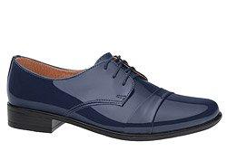 Półbuty komunijne wizytowe Lakierki buty KMK 106 Granatowe