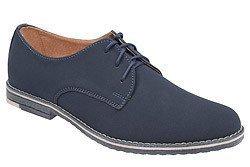 Półbuty komunijne wizytowe buty KMK 199 Granatowe N