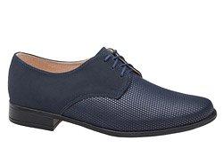 Półbuty komunijne wizytowe buty KMK 99 Granatowe AN