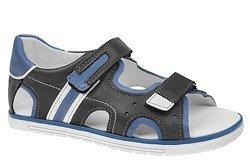 Sandałki dla chłopca KORNECKI 3747 Grafitowe