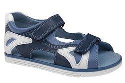 Sandałki dla chłopca KORNECKI 3748 Granatowe