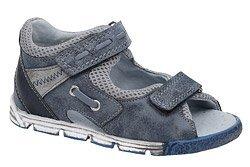 Sandałki dla chłopca KORNECKI 4956 Granatowe