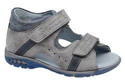 Sandałki dla chłopca KORNECKI 4958 Popielate