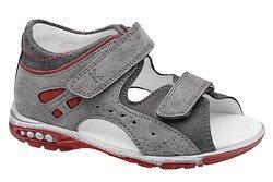 Sandałki dla chłopca KORNECKI 4963 Popielate