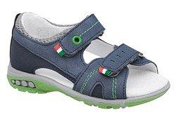 Sandałki dla chłopca KORNECKI 6313 Granatowe