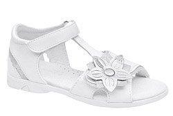 Sandałki dla dziewczynki KORNECKI 4523 Białe