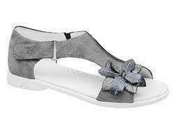 Sandałki dla dziewczynki KORNECKI 4527 Popielate