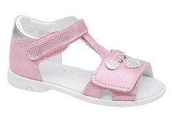 Sandałki dla dziewczynki KORNECKI 6556 Różowe
