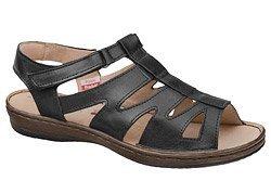 Sandały AXEL Comfort 2162 H Czarne