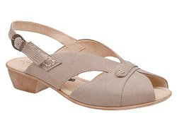 Sandały AXEL Comfort 2210 Beżowe