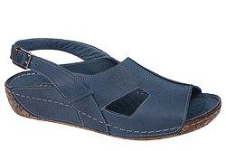 Sandały LANQIER 34C388 Granatowe