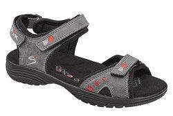 Sandały NIK 07-0126-002 Szare BioForm