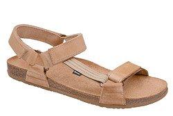 Sandały OTMĘT 415CP Beż-Brąz NaturForm Fussbett