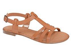 Sandały damskie VERONII 3492 Brązowe Sienna