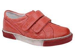 Sneakersy Półbuty KORNECKI 3370 Czerwone na rzepy