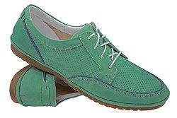 Sneakersy Półbuty NIK 05-0188-002 Zielone
