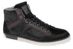 Trzewiki Sneakersy MUSTANG 35A042 Czarne zimowe