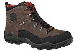 Trzewiki trekkingowe MANITU 670489-2 Brązowe IMAC-TEX