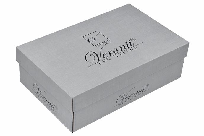 Balerinki wsuwane VERONII 3930 Czarne