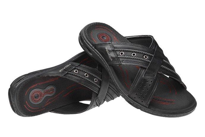 Brazylijskie Klapki PEGADA 30651 Czarne
