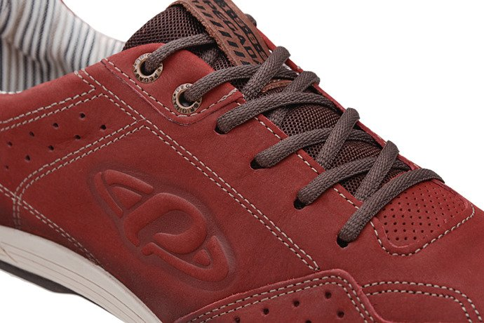 Brazylijskie Sneakersy PEGADA 12819-05 Bordowe