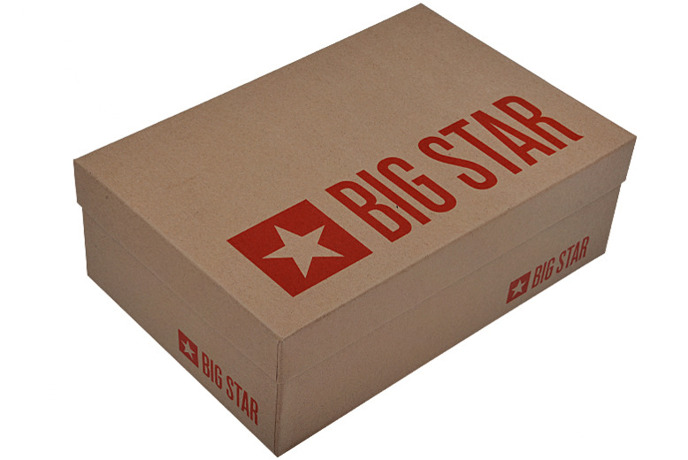 Czółenka Szpilki BIG STAR U274216 Czarne Lakierki