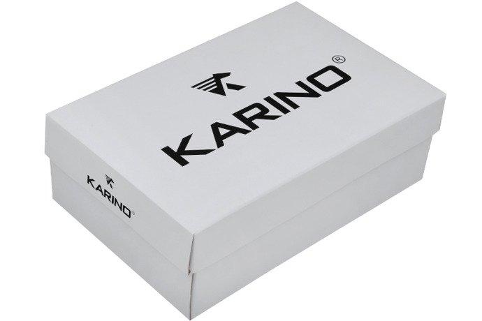 Czółenka na koturnie KARINO 0993/015 Brązowe