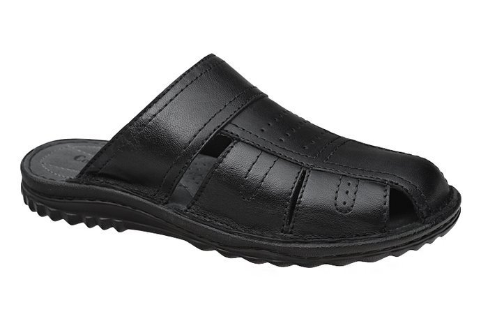 Klapki COMFORTABEL 600470-1 Czarne