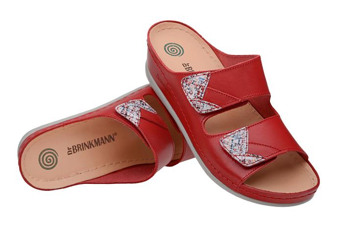 Klapki Dr Brinkmann 701365-4 Czerwone