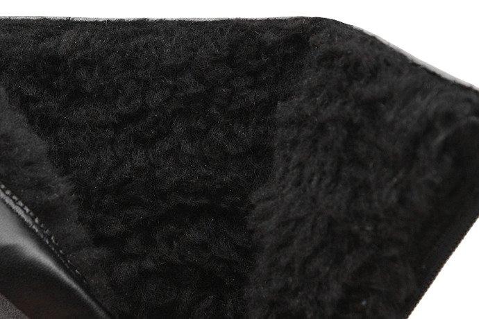 Kozaczki Botki zimowe KORNECKI 6019 Popielate ocieplane