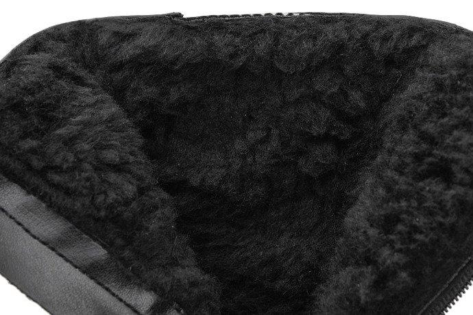 Kozaczki Botki zimowe KORNECKI 6040 Czarne ocieplane