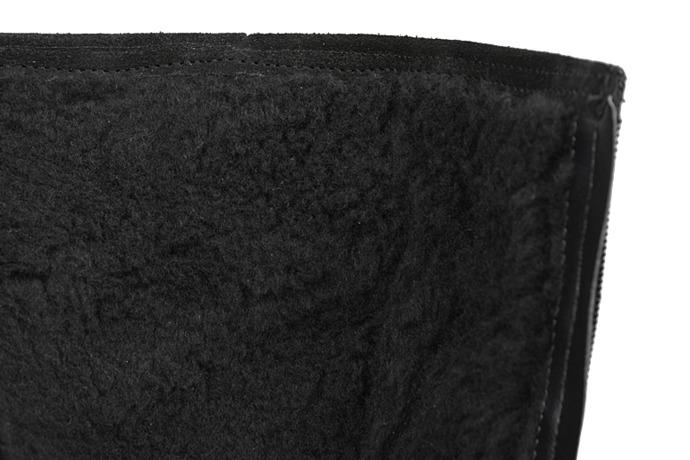 Kozaczki zimowe KORNECKI 4360 Czarne ocieplane