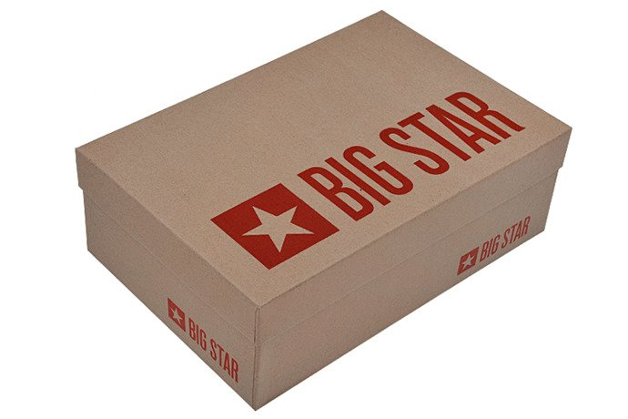 Kultowe Trampki BIG STAR U274810 Kwiatki
