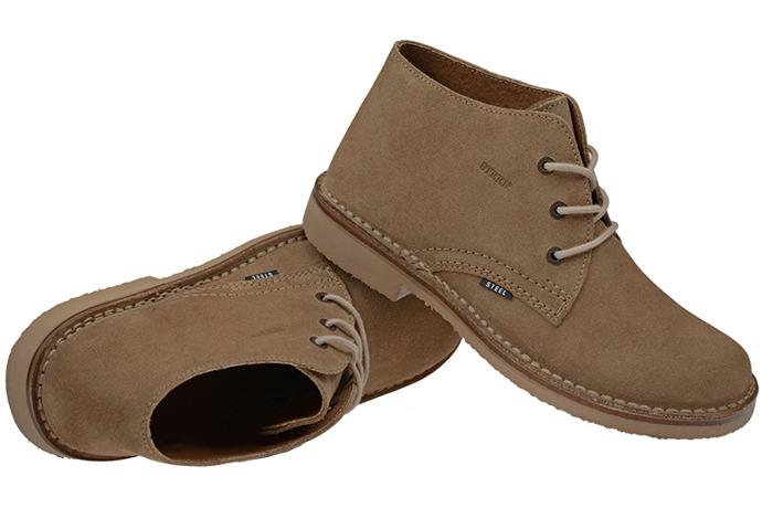 Kultowe trzewiki buty STEEL 280-W3 Beżowe
