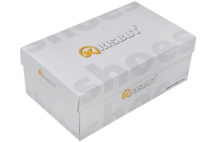 Półbuty KRISBUT 5292-3-9 Granatowe sznurowane