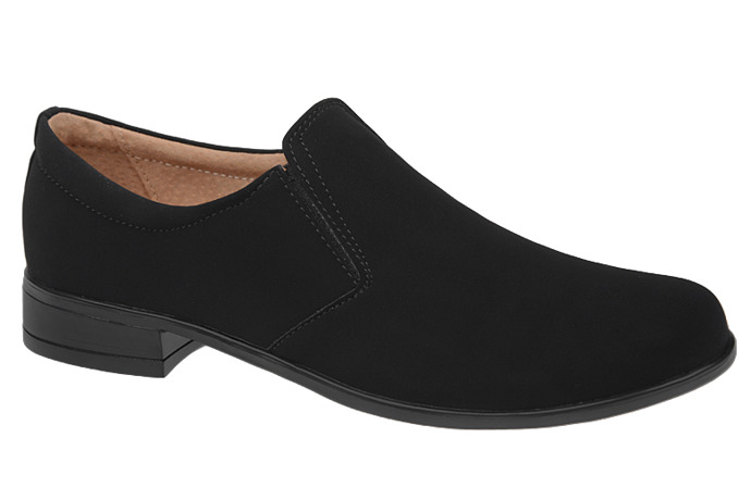 Półbuty Mokasyny komunijne wizytowe buty KMK 160 Czarne N