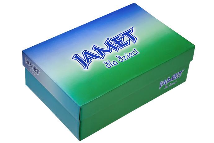 Półbuty na rzepy skóra JAMET 341/T