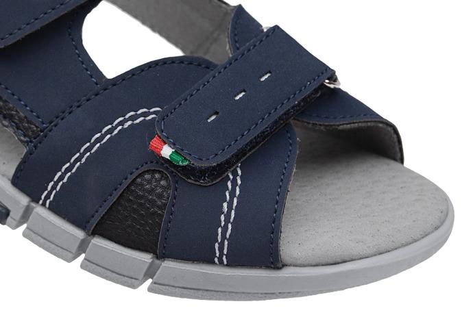 Sandałki dla chłopca KORNECKI 6337 C.Granatowe