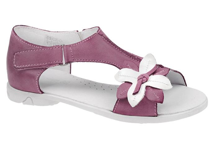 Sandałki dla dziewczynki skóra KORNECKI 3739
