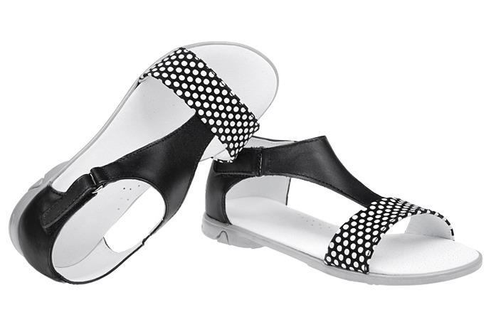 Sandałki dla dziewczynki skóra KORNECKI 3982