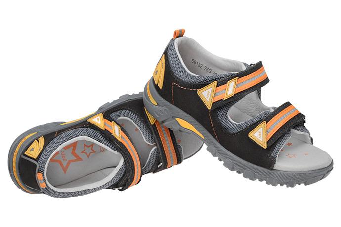 Sandałki na rzepy BARTEK 66132