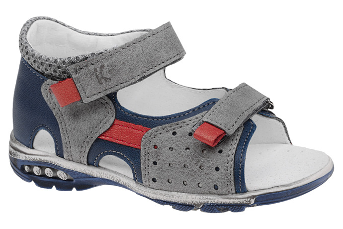 Sandałki na rzepy KORNECKI 4739