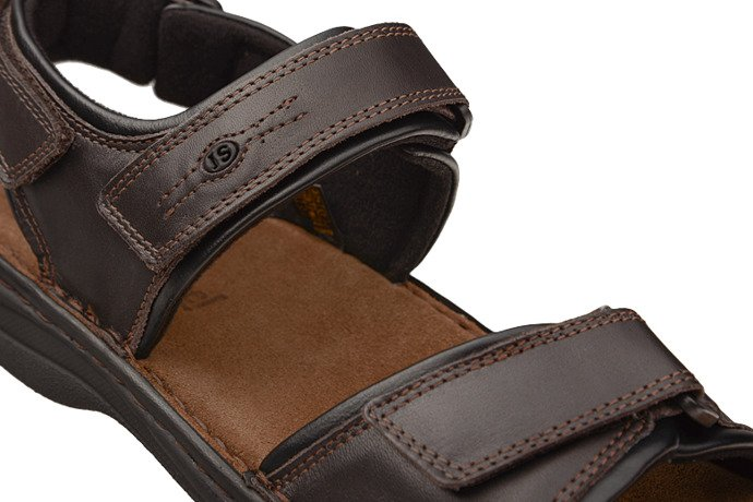 Sandały JOSEF SEIBEL 10104 Rafe Moro Brązowe